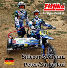Sidecar Team: Peter/Zatloukal powered by FitLike