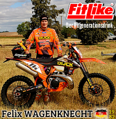 Moto-X: Felix Wagenknecht powered by FitLike